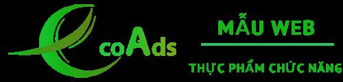 Mẫu website Thực Phẩm Chức Năng by EcoAds